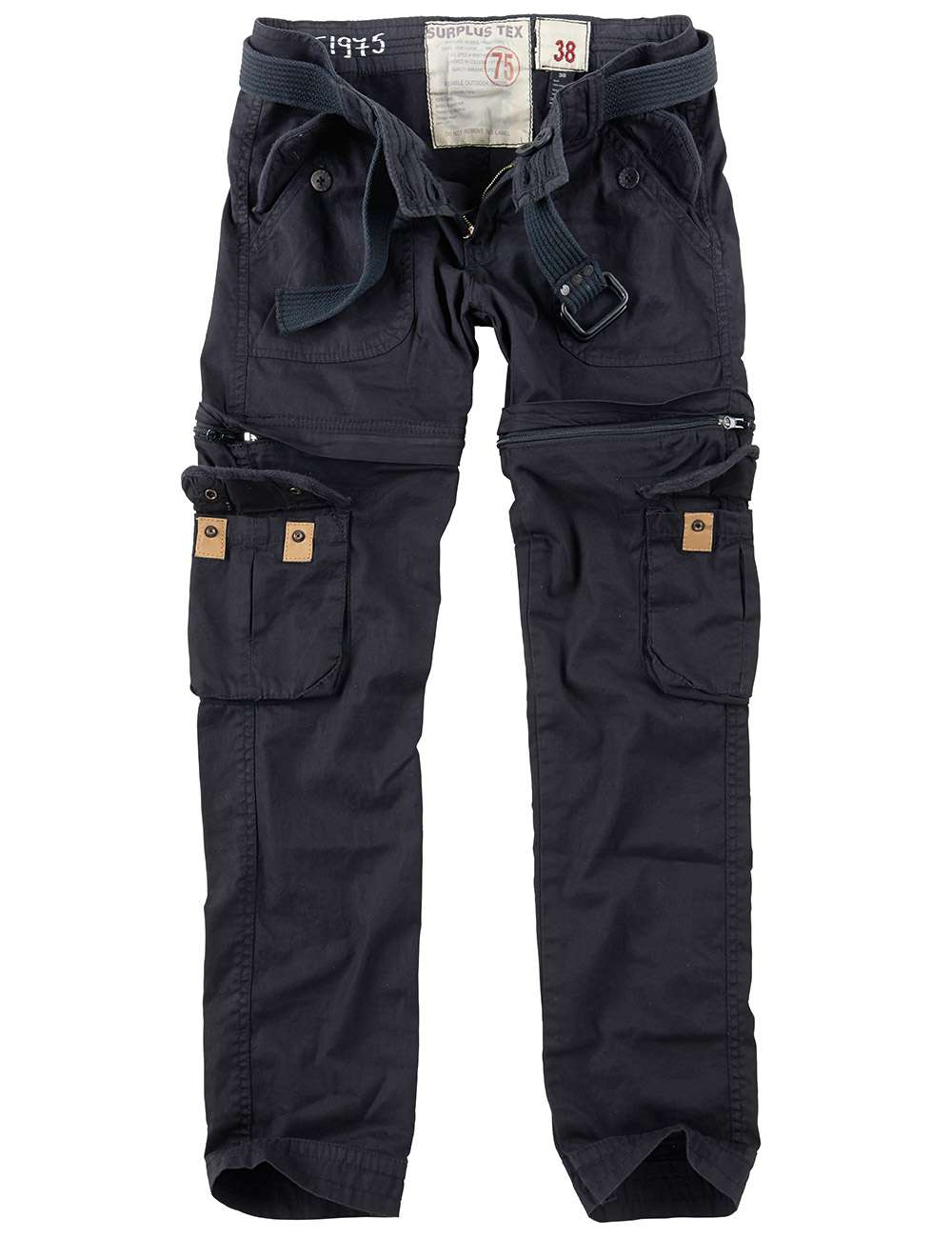 Ladies cargo army pants Trekking Premium - Surplus - Black  4b6c28f899