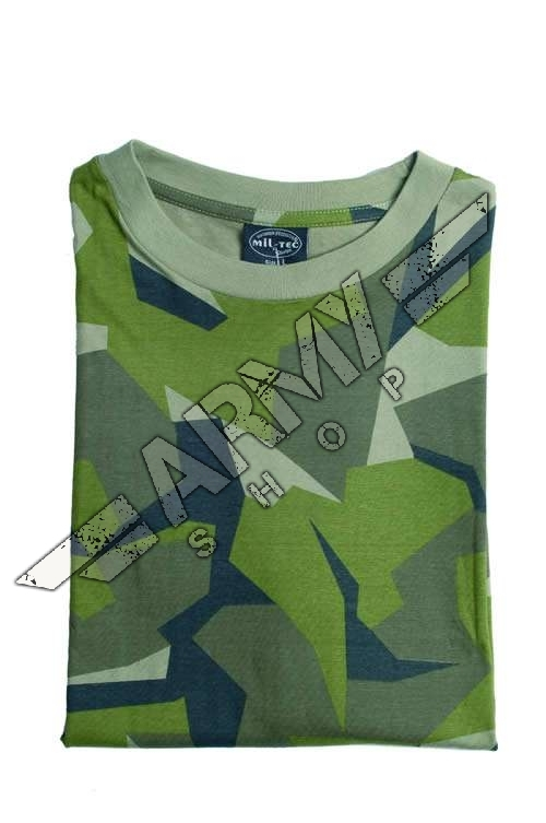 7fb81f2f Camo T-shirt - Miltec By Sturm - Swedish Camo | Army Shop Admiral
