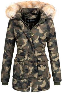 Navahoo ladies Winter jacket Schneeengel - Woodland
