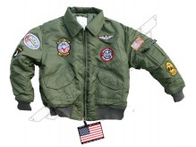 US CWU pilot jacket for kids