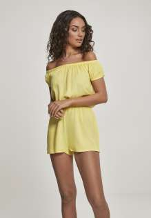 Ladies Off Shoulder Short Jumpsuit Sadie