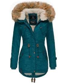 Navahoo girls Winter jacket La Viva - Petrol