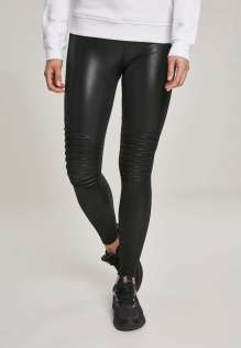 Ladies Faux Leather Biker Leggings Quinn