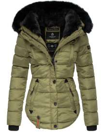 Marikoo ladies Winter jacket Lotusbluete - Green