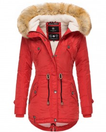 Navahoo girls Winter jacket La Viva - Red
