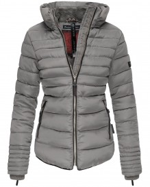 Navahoo girls Winter jacket Amber - Grey