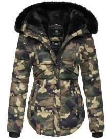 Marikoo ladies Winter jacket Lotusbluete - Woodland
