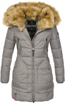Marikoo ladies Winter jacket Knuddelmaus - Grey