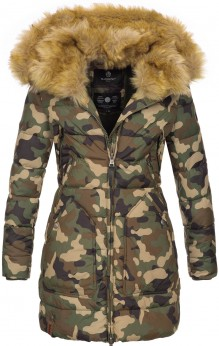 Marikoo ladies Winter jacket Knuddelmaus - Woodland
