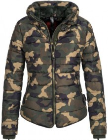 Navahoo girls Winter jacket Amber - Woodland