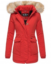 Navahoo ladies Winter jacket Schneeengel - Red