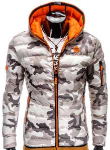 Men camo step jacket C 207