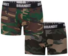 Men's Underwear Brandit Logo (double pack)
