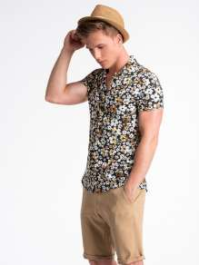 Men's short sleve shirt K485