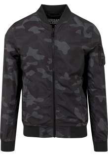 Men's Light Camo Bomber Jacket