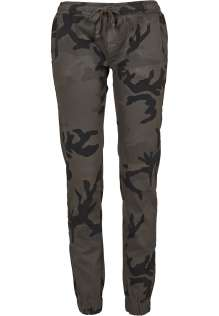 Ladies Camo Jogging Pants