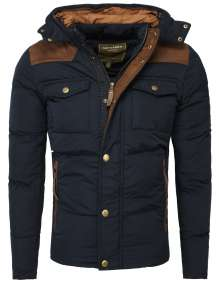 Men winter jacket Facture