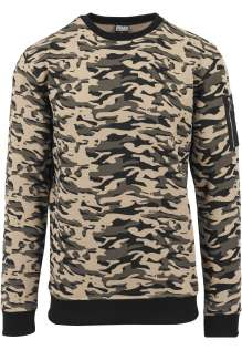 Sweat Camo Bomber Crew