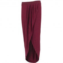 Ladies Long Viscon Skirt