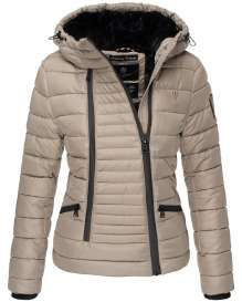 Navahoo ladies Winter jacket Tabea - Taupe
