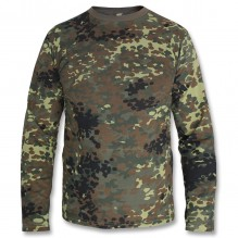 Camo Shirt With Long Sleeves