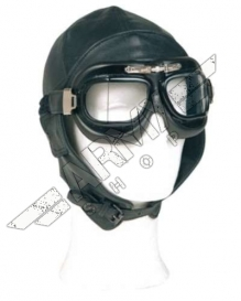 Pilot Leather Helmet