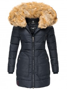 Marikoo ladies Winter jacket Knuddelmaus - Blue