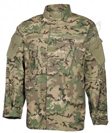 US Field tactical camoflage combat Jacket ACU
