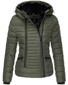 Navahoo ladies Winter jacket Tabea - Forest green