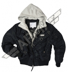 Hooded Jacket MA 1