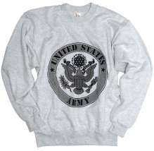 US SWEAT-SHIRT ′ARMY′