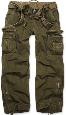 Cargo army military trausers Brandit Royal Vintage 9243c3da41