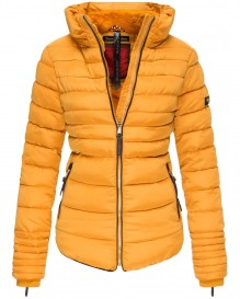 Navahoo girls Winter jacket Amber - Yellow