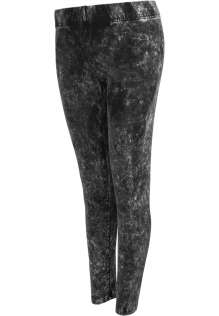 Ladies Acid Wash Leggings