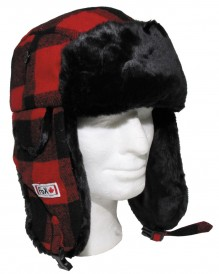 Woodcutter hat with fur