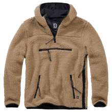 Male fleece pullover hooded Worker