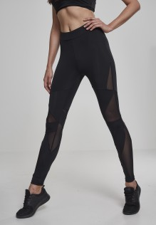 Ladies Tech Mesh Leggings Triangle