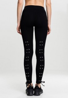 Ladies Laced Up Back Leggings Gela