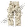 Army camo Vintage Fatigues Pants - Beige