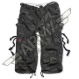 Engineer Vintage 3/4 Pants - Black Camo